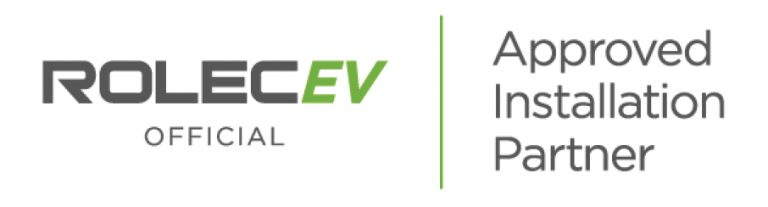 approved installer of rolec ev charging stations
